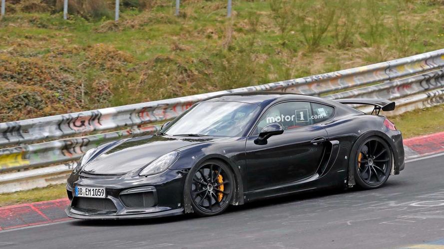 Porsche 718 Cayman GT4, ¿eres tú? Primeras fotos espía