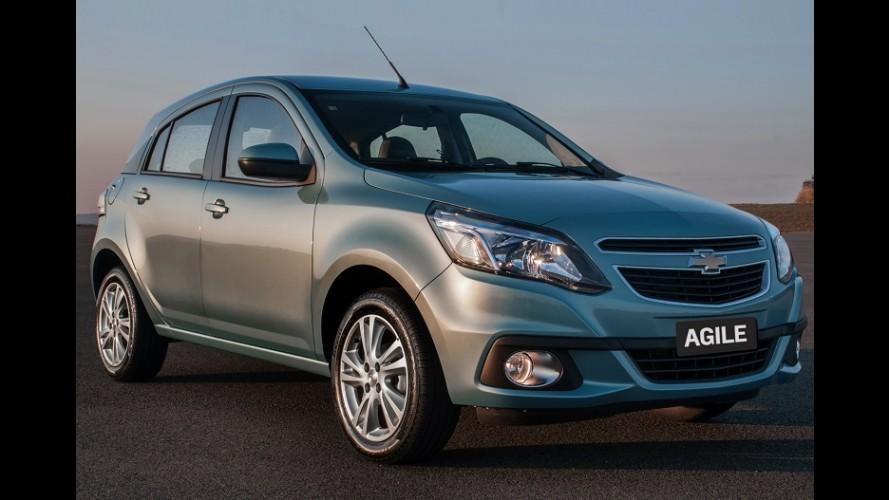 GM faz recall de Agile e Montana por defeito no airbag