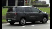 Nova Chevrolet Spin: Flagramos a minivan sucessora da Meriva e Zafira