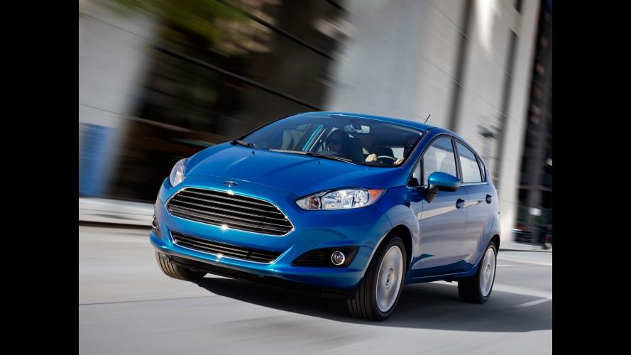 Ford promete consumo de 17,4 km/l para o Fiesta nos EUA