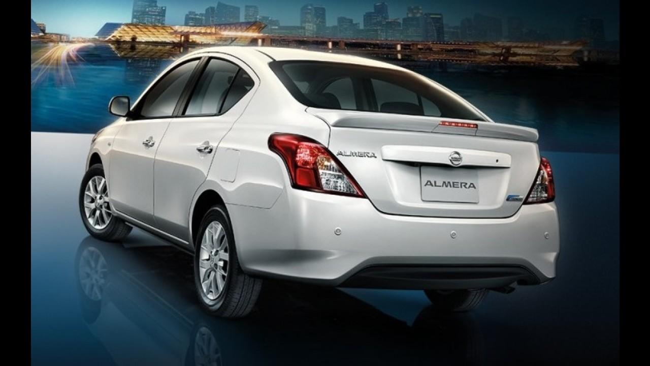 Nissan Versa reestilizado marcará presença no Salão de Nova York
