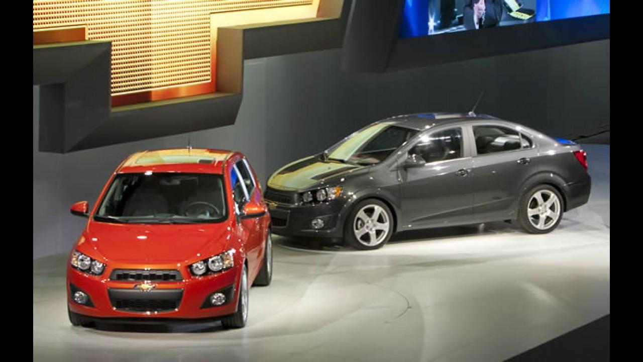 GM confirma que Novo Aveo / Sonic pode ser lançado no Brasil