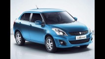 Suzuki Swift Dzire é lançado no Uruguai