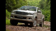 Análise CARPLACE (picapes médias): Hilux encosta na líder S10; Amarok despenca