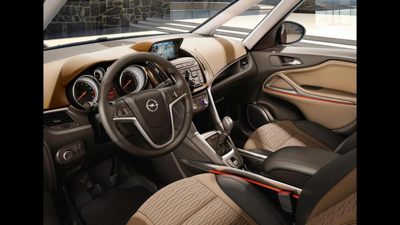 Nova Opel Zafira Tourer começa ser vendida por 28.000 euros