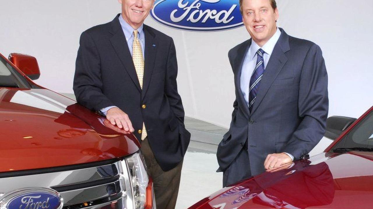 Alan Mulally and Bill Ford