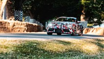 Toyota Supra A90 at Goodwood
