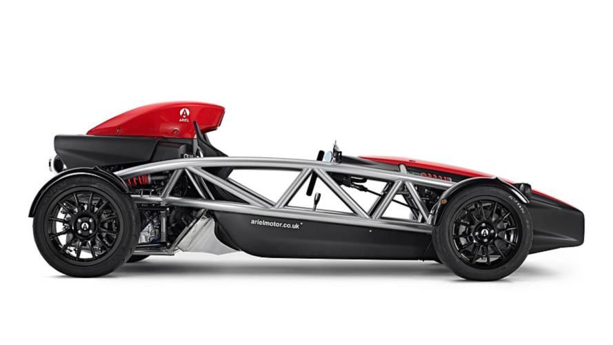 El Ariel Atom 4 equipará un motor turboalimentado con 320 CV