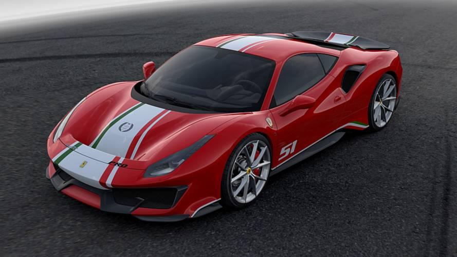 Ferrari 488 Pista 'Piloti Ferrari'