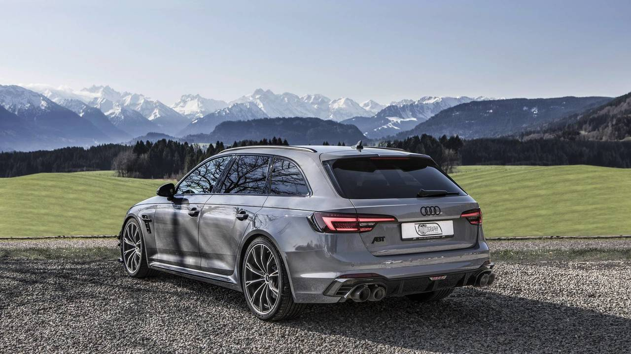 Audi Rs4 R Avant Nardo Gray By Abt Photo
