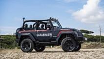 Jeep Wrangler Italian Police