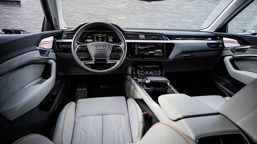 Audi E-Tron Resmi Duyuru Görüntüleri (Çoğu İç Mekandan)