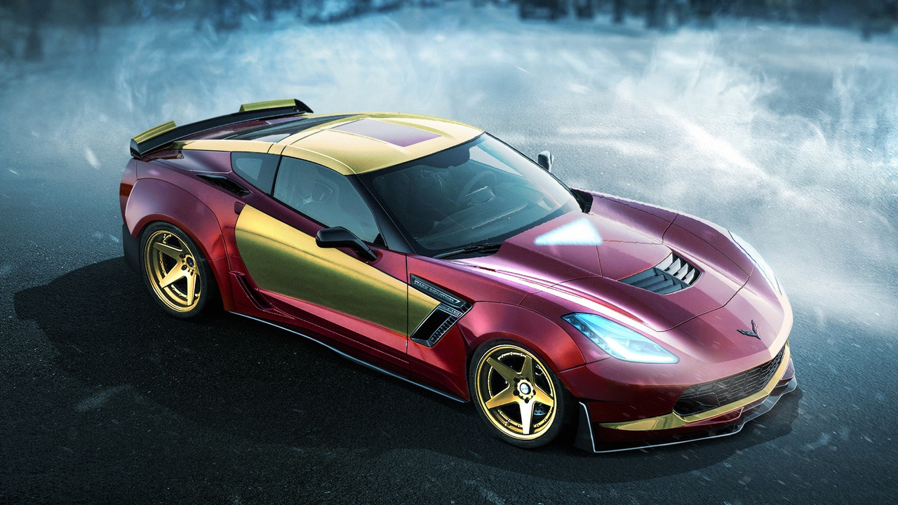 Iron Man - Chevy Corvette Z06