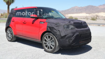 Kia Soul Refresh Spy Shots