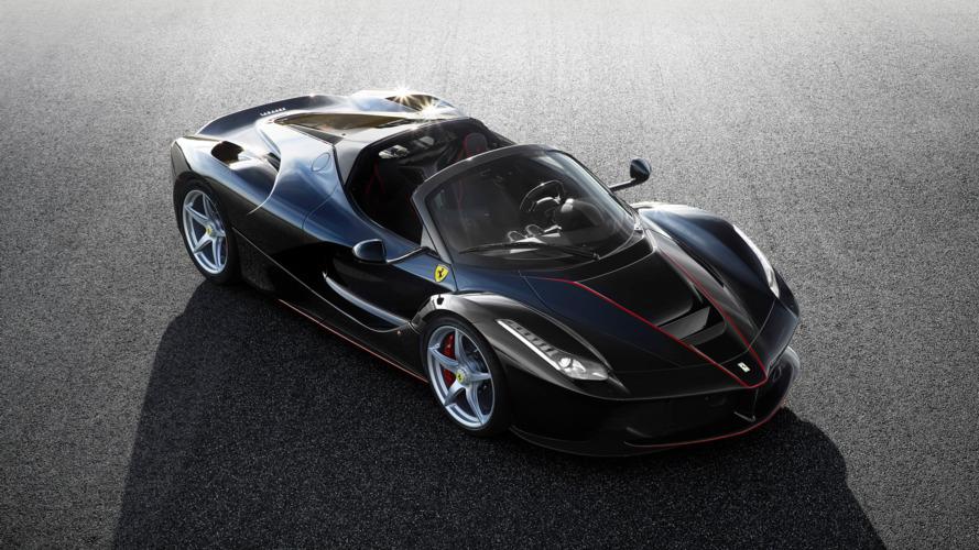 Ferrari LaFerrari Spider first official photos