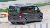 Mercedes Sprinter Spy Pics