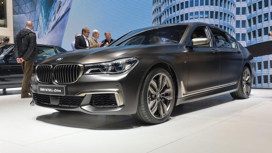 BMW M760Li xDrive brings extra 10 hp to Geneva