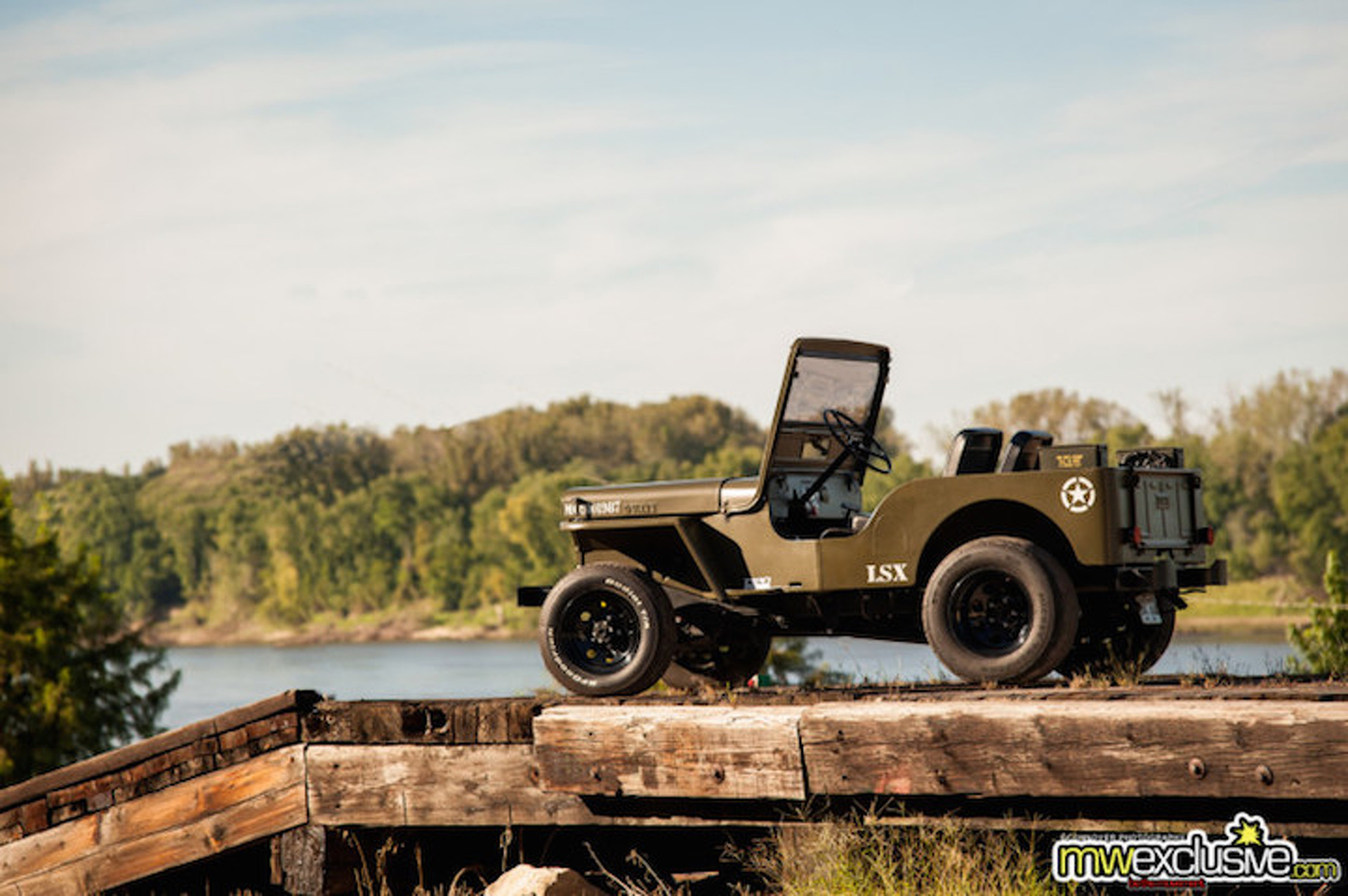 This LS3-Swapped Willys Jeep is the Perfect Veteran's Day Vehicle