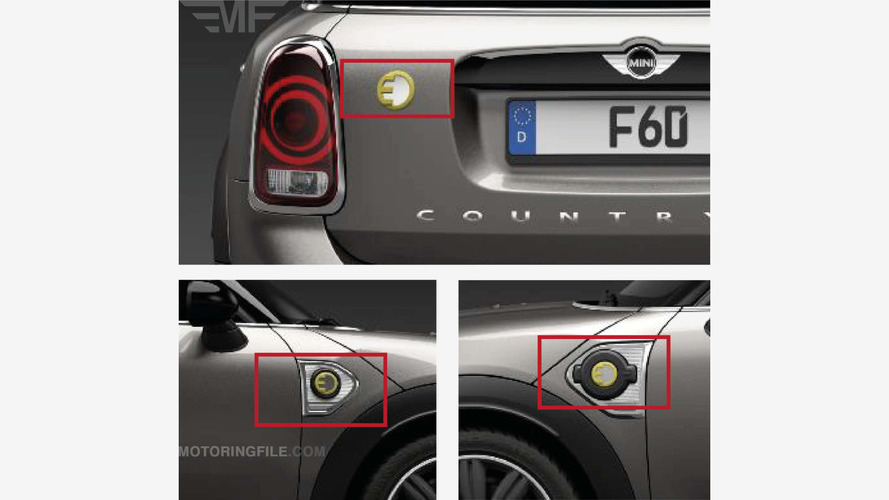 Mini Countryman E PHEV existence leaks