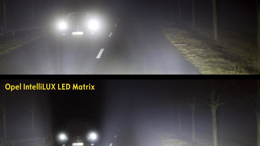 2016 Opel Astra will feature IntelliLux LED Matrix Headlights