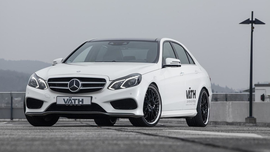 Mercedes-Benz E500 facelift by VATH upgraded to 550 PS