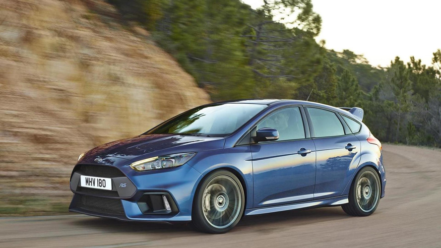 Ford Focus RS off to a strong start, company has 1,500 orders in the UK