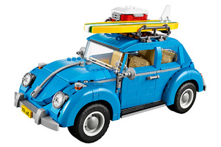 LEGO Goes Vintage with a 1960s VW Beetle Set