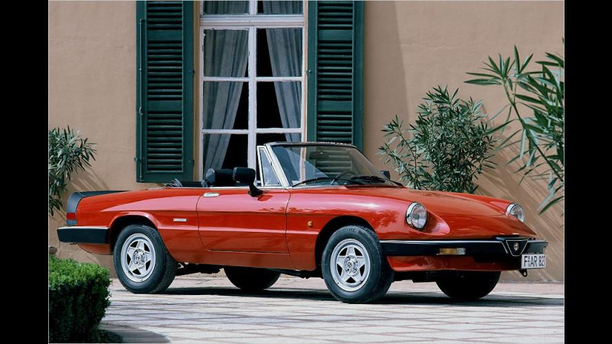 83er-Spider: Ikone von Alfa Romeo wird offiziell Oldtimer