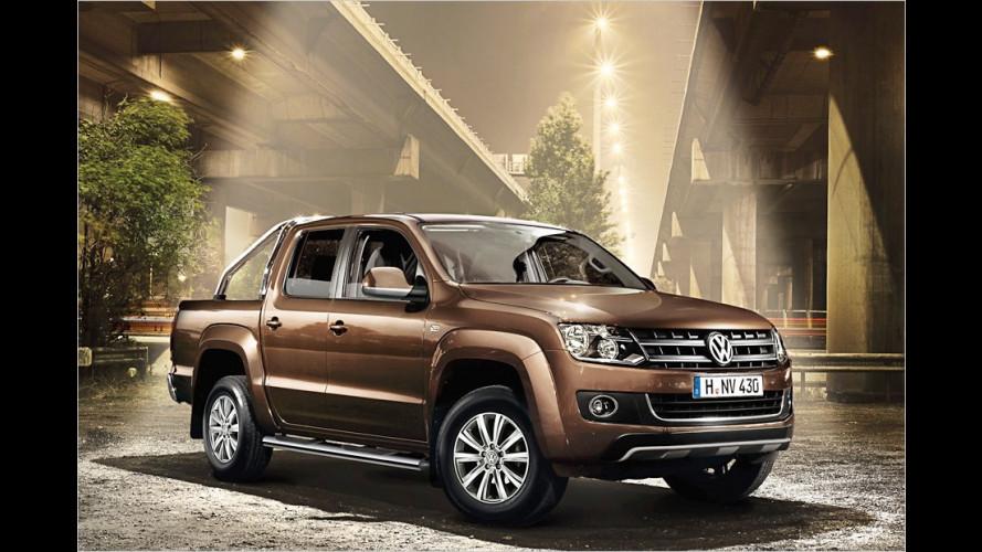 Extravaganter Pick-up mit luxuriöser Ausstattung