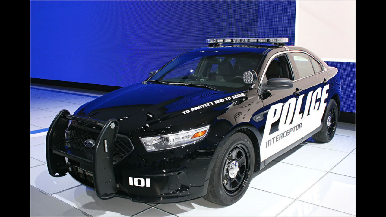 Ford Fusion Police Interceptor