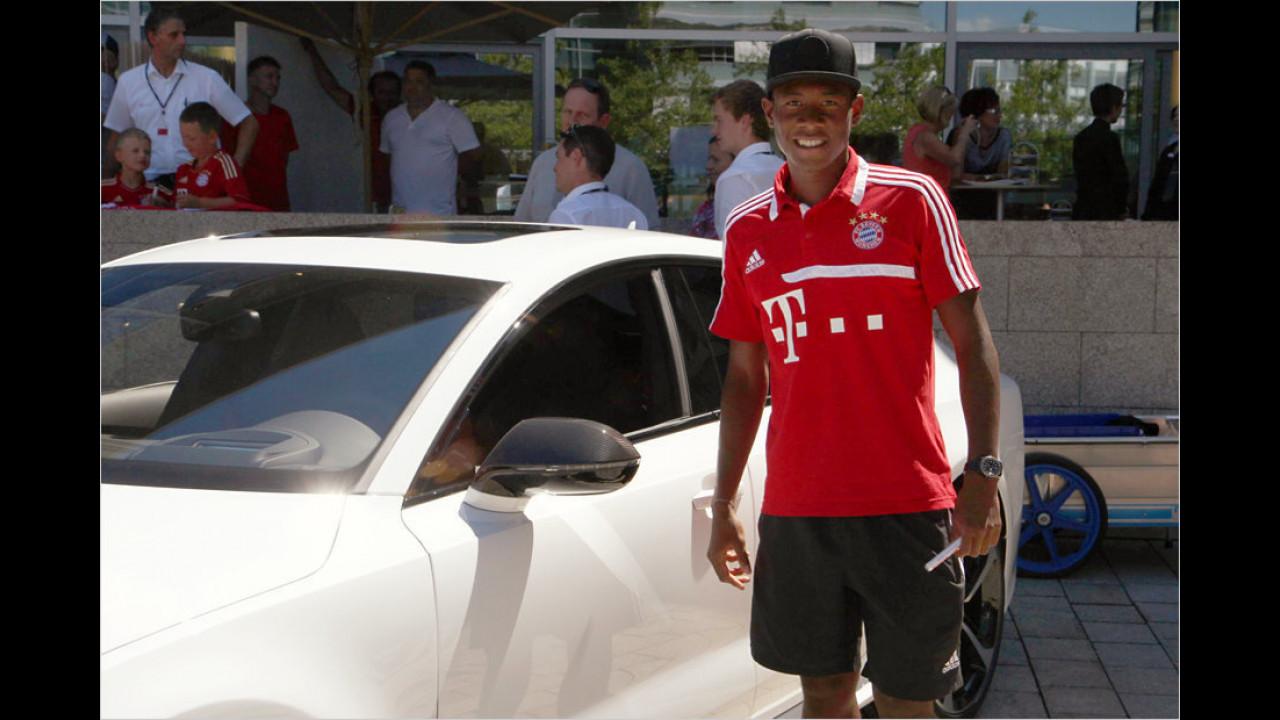 David Alaba: Audi A5 Coupé
