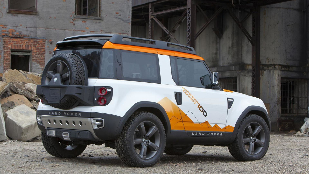 Land Rover DC100 Expedition concept