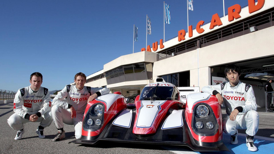 Toyota TS030 HYBRID Le Mans race car officially unveiled