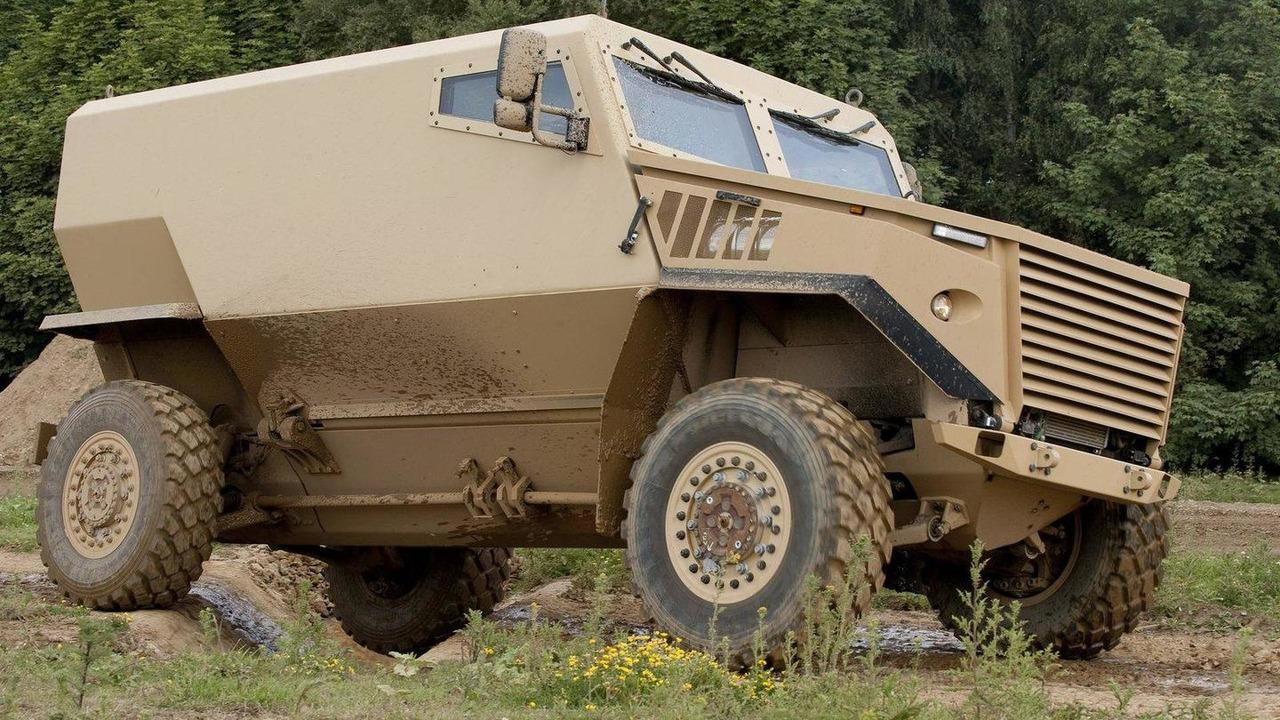 Foxhound armoured vehicle 21.06.2012