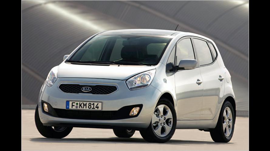 Kia-Minivan heißt Venga