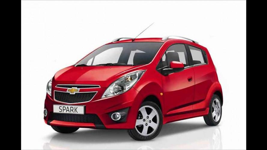 Soll einheizen: Chevrolet Spark ,Hot Tunes