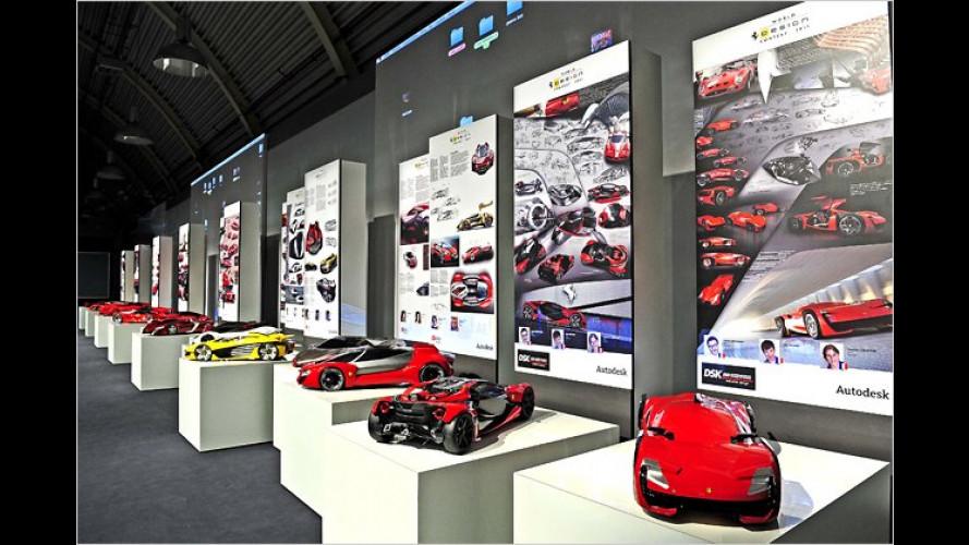Designwettbewerb: Studenten entwerfen Ferrari der Zukunft