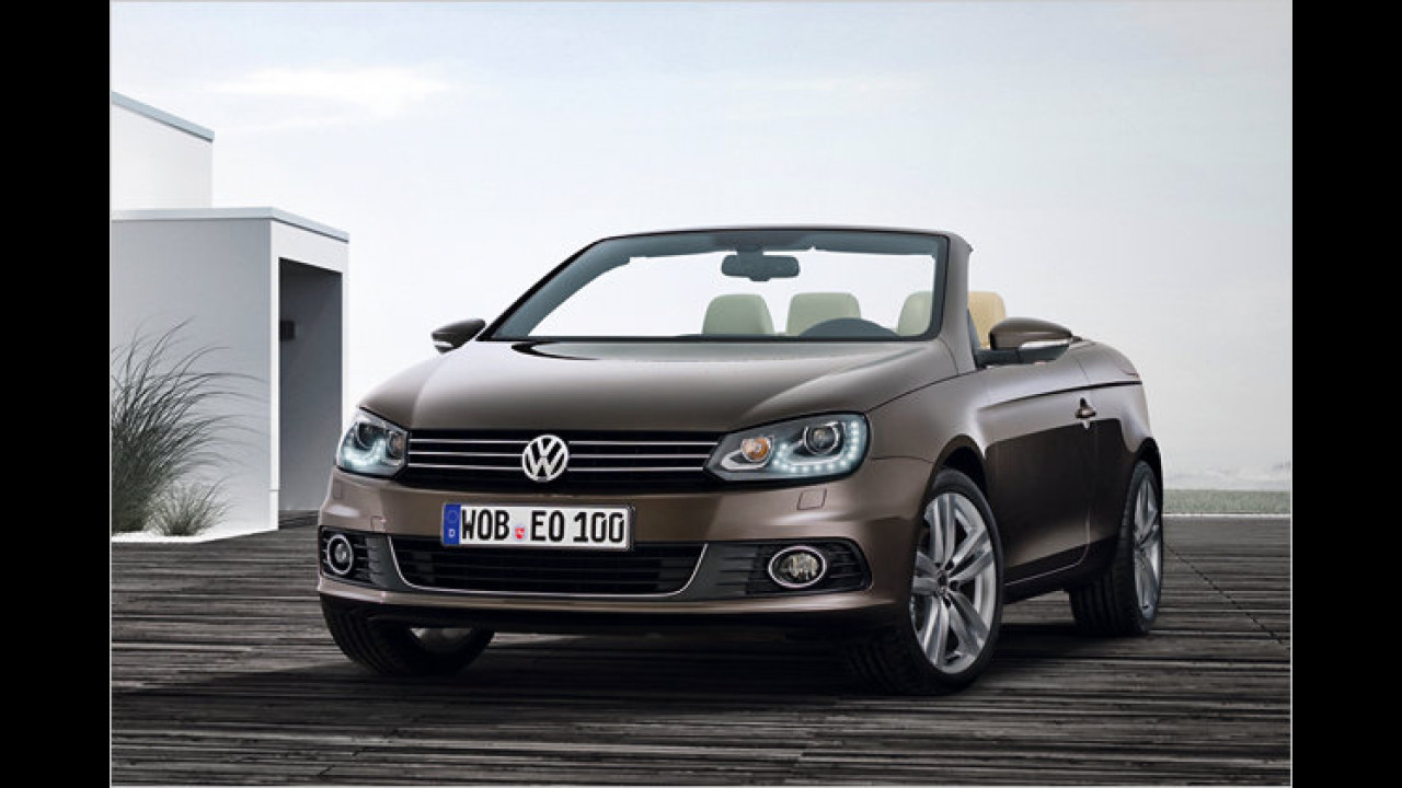 VW Eos 2.0 TDI BlueMotion Technology