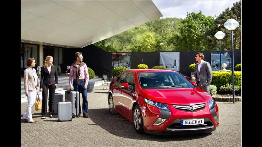 Opel Ampera bald als Mietwagen verfügbar