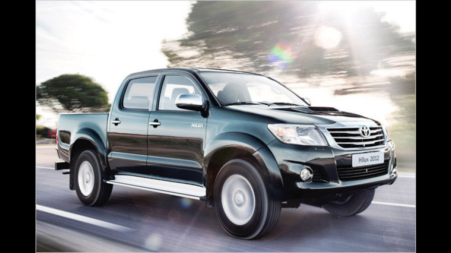 Toyota Hilux: Neuer Pick-up für Freizeit und Arbeit