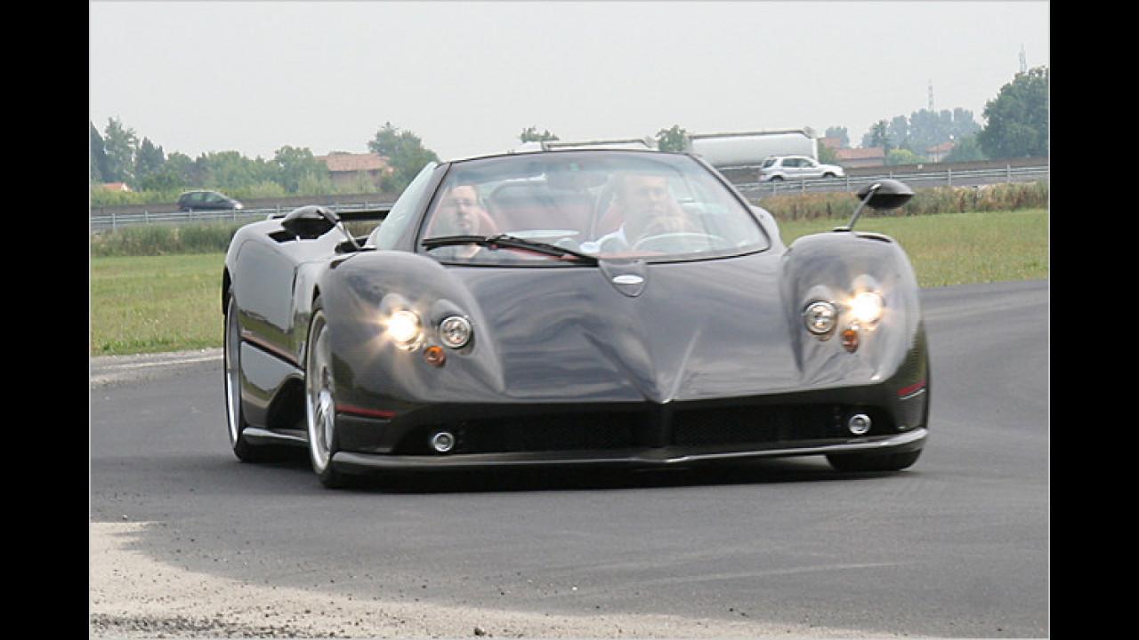 Pagani Zonda Roadster F