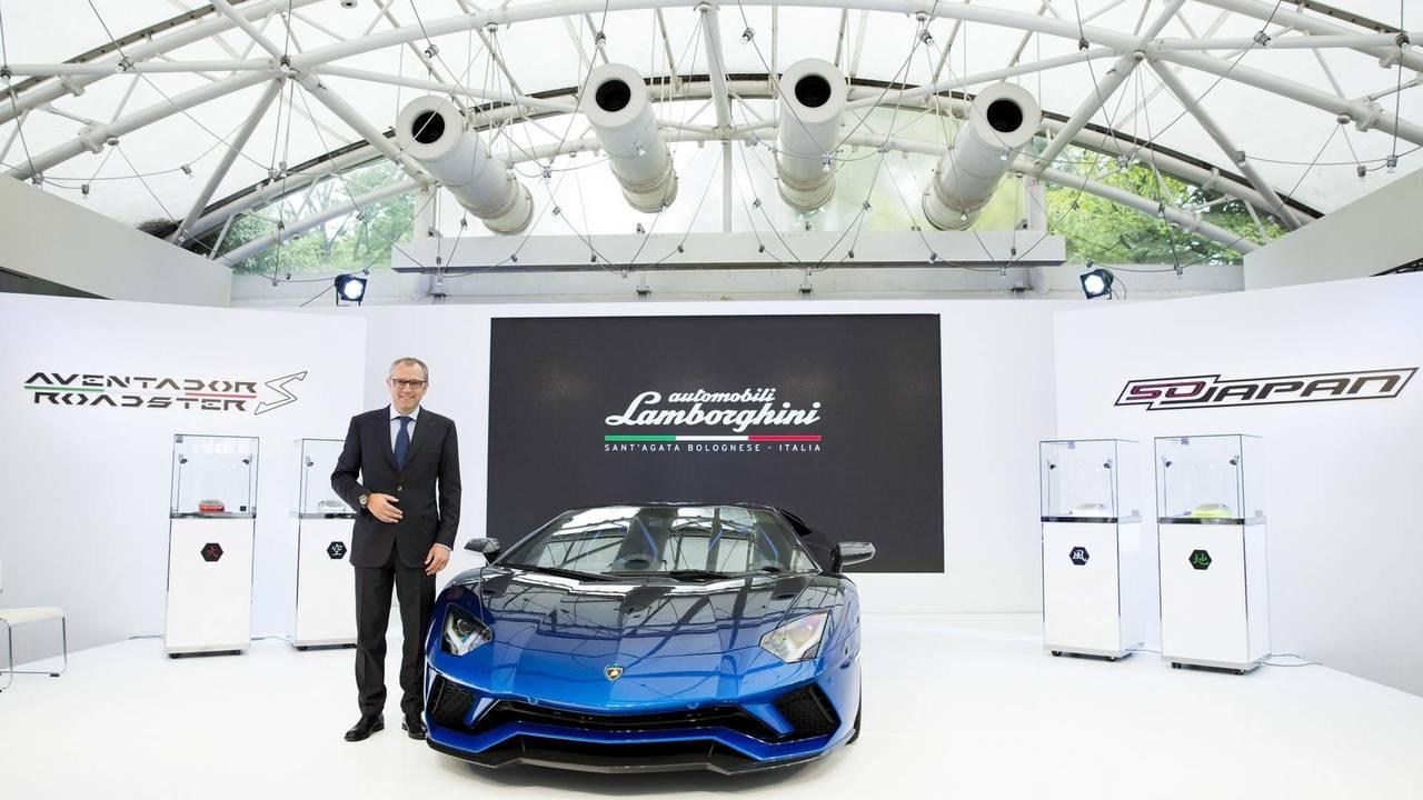 Lamborghini Aventador S Roadster 2018 50th Aniversario