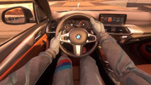 2018 BMW X3 virtual test drive on Mars