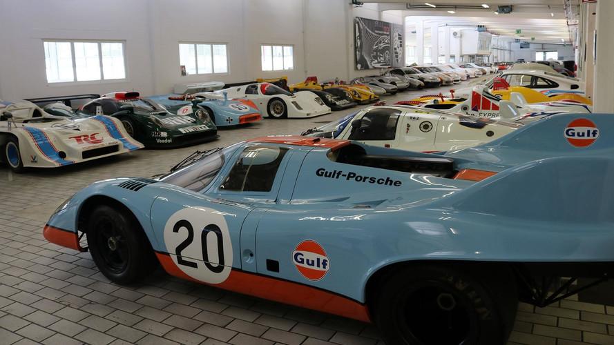 Dans les coulisses du Musée Porsche