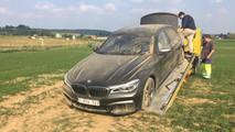 BMW M760Li Crash