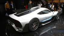 Mercedes-AMG Project One live in frankfurt