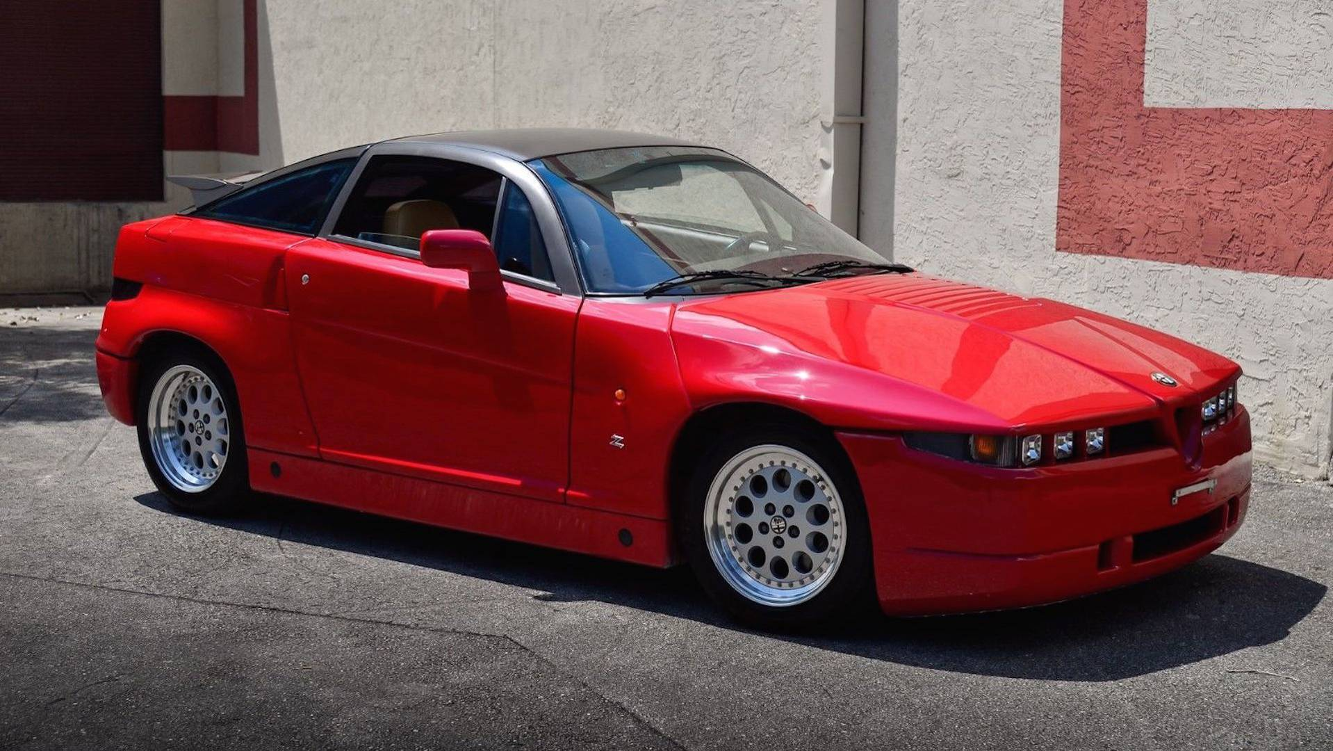 1990 alfa romeo sz ebay find is a beautiful monster. Black Bedroom Furniture Sets. Home Design Ideas