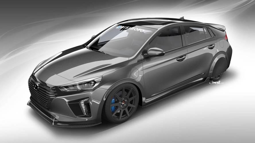 Hyundai shows off super-frugal tuned Ioniq at SEMA Show in Vegas