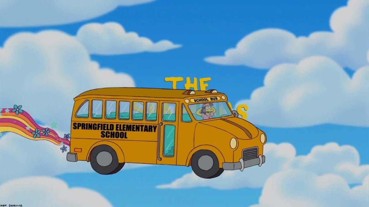 SEAT Alhambra transformado en el autobús de Los Simpson