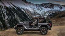 2018 Jeep Wrangler in Granite Crystal Metallic Clear Coat